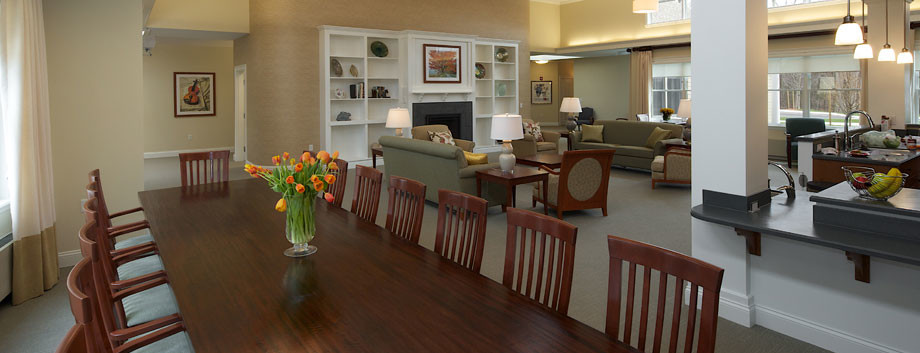 White Oak Cottages are assisted living cottages for those with memory loss, located in Massachusetts