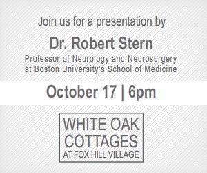 Dr. Bob Stern Presents at White Oak Cottages