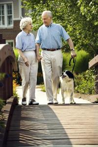 walking, senior